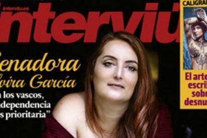 La exuberante senadora podemita que se desnuda para 'Interviú'