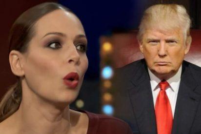El regalo que le hizo el cachondo de Donald Trump a Eva González en Miss Universo