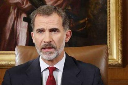 """El Rey insta a Rajoy a restaurar el orden: """"Los legítimos poderes asegurarán el Estado de Derecho en Cataluña"""""""