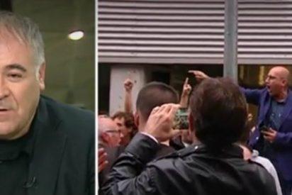 """Insultos y amenazas de muerte a Ferreras en las conexiones desde Cataluña: """"He visto miradas de odio irracional"""""""