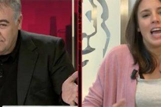"""¡Nos ha dolido hasta a nosotros! El tremendo 'zasca' que le calza Ferreras a Irene Montero por afirmar que 'los Jordis' son """"presos políticos"""""""