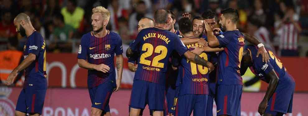Florentino Pérez tira de la manta: la estrella del Barça a la que planean liquidar (y es una bomba)