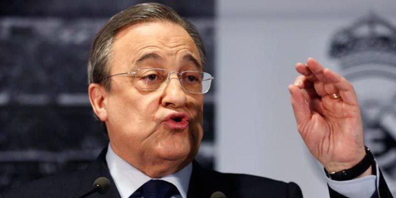 El calentón de Florentino Pérez en el vestuario del Real Madrid tras el petardazo de Gerona