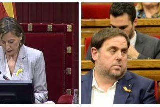 El infame circo separatista perpetra el golpe de Estado y vota por la independencia de Cataluña