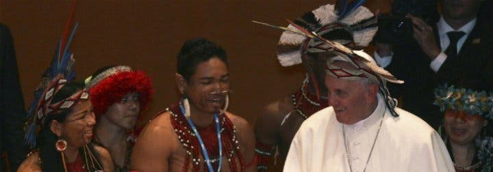 El Papa Francisco, a la escucha de los pobres e indígenas de la Amazonia
