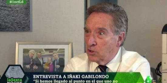 """Nunca hemos visto a Iñaki Gabilondo tan cabreado: """"¡Los que llaman fascista a Serrat son gilipollas!"""""""
