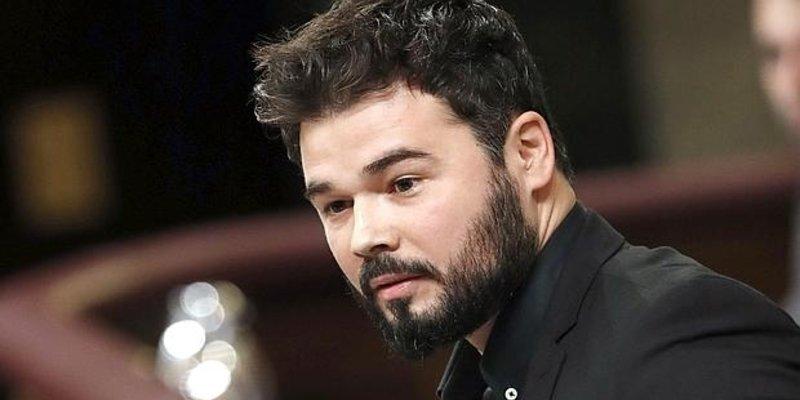 Rufián pierde la cabeza en Turquía por 'los Jordis' y sus compinches se suben al cadalso