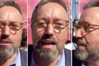 Girauta estalla contra TV3 y los del golpe de Estado en plena manifestación