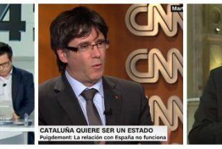 Los golpistas ganan la batalla de la comunicación gracias a la desidia de Moncloa y las trolas de la CNN