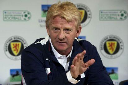 Gordon Strachan abandona el banquillo de Escocia tras quedar fuera del Mundial