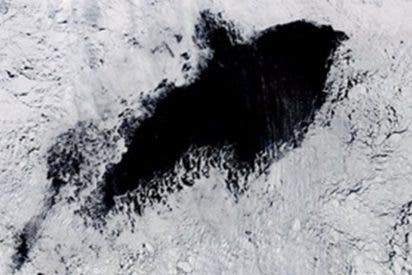 Este gigante y misterioso agujero descubierto en la Antártida deja perplejos a los científicos