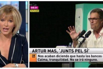 Griso tira de hemeroteca para despedazar en diez segundos al oráculo separatista de Artur Mas