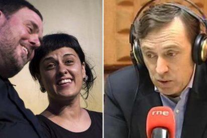 """Rafa Hernando (PP) sin tapujos: """"ERC y la CUP están deseando que haya muertos en Cataluña"""""""