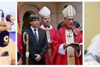 """Un tertuliano de COPE reparte hostias a los obispos por su cobardía en Cataluña: """"Lo que tocan, lo rompen"""""""