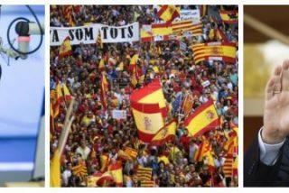 Carlos Herrera advierte a Rajoy de que ni se le ocurra traicionar al millón de personas que abarrotaron Barcelona