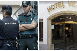 """Caza de brujas contra los policías y guardias civiles en Barcelona: """"Nos han dicho en el hotel que nos marchemos"""""""