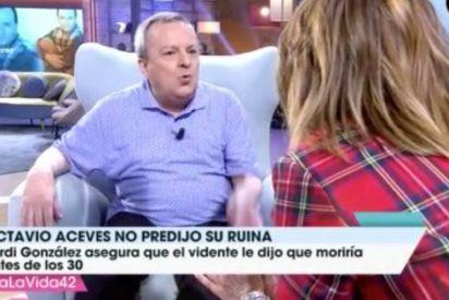 Bronca épica entre Toñi Moreno y Octavio Aceves en 'Viva la vida'