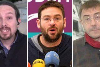 Iglesias y Monedero enseñan la puerta al traidor Fachín y mandan callar a los impertinentes anticapitalistas