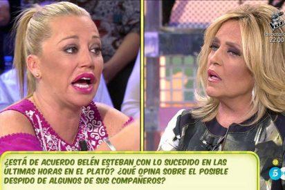 """Belén Esteban apuñala a Lydia Lozano: """"A lo mejor necesita un descanso"""""""