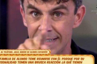 """La madre de Alonso Caparrós manda un mensaje a su hijo: """"Nos estás matando"""""""