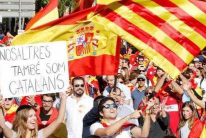 La manifestación 'española' de Barcelona pulveriza el relato del independentismo