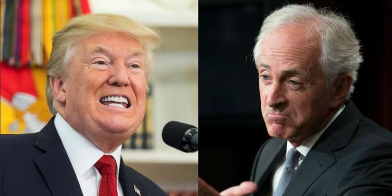 Donald Trump intercambia insultos con un senador de su propio partido