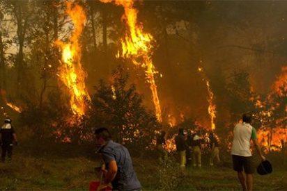 Ya son cuatro los fallecidos por la plaga de incendios que asola a Galicia