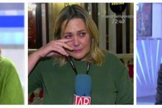 Mayka Navarro rompe a llorar en directo tras una brutal bronca con Eduardo Inda