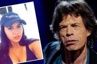 El 'stone' Mick Jagger se lía con una chavalita 52 años más joven que él