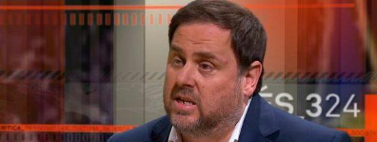 """Junqueras: """"El Gobierno no nos ha dejado otra opción que proclamar la República Catalana"""""""