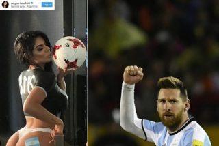Así de sexy fue la felicitación de Miss Bum Bum a Messi