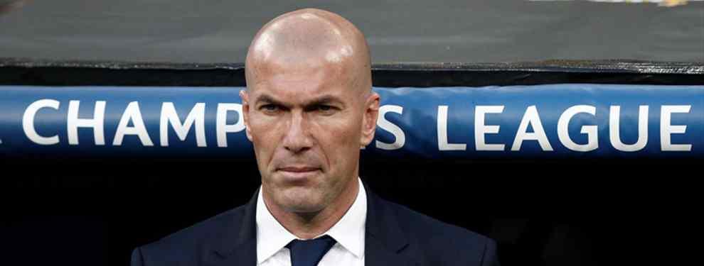 ¡La orden de Zidane a Florentino Pérez! El crack que no puede fichar por el Barça