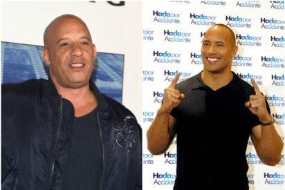 Vin Diesel y 'La Roca' se odian