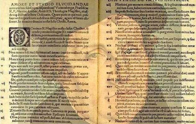 Lutero: V centenario de la Reforma Protestante (y III)