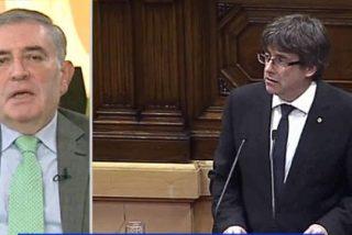 """Un exdiputado de CiU desnuda al ridículo Puigdemont: """"Es el hombre más tozudo que me he encontrado en mi vida y tiene asumida la cárcel"""""""
