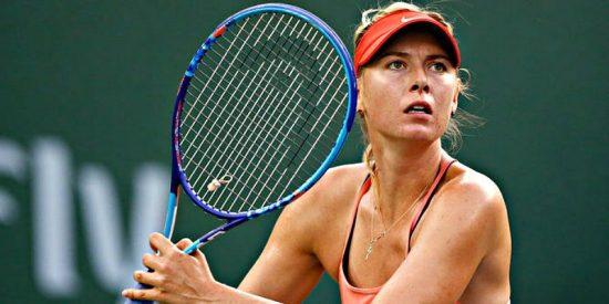 La bella Maria Sharapova regresa a una final WTA más de dos años después