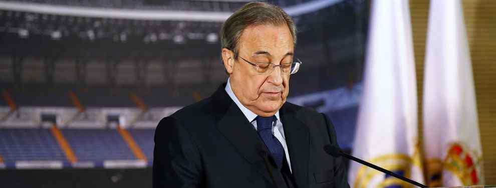 La millonada que aleja a un fichaje de Florentino Pérez para el Real Madrid