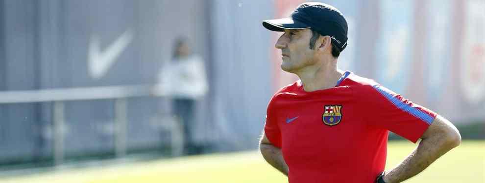 El descarte de Ernesto Valverde en el Barça al que no le dejan jugar ni en el filial