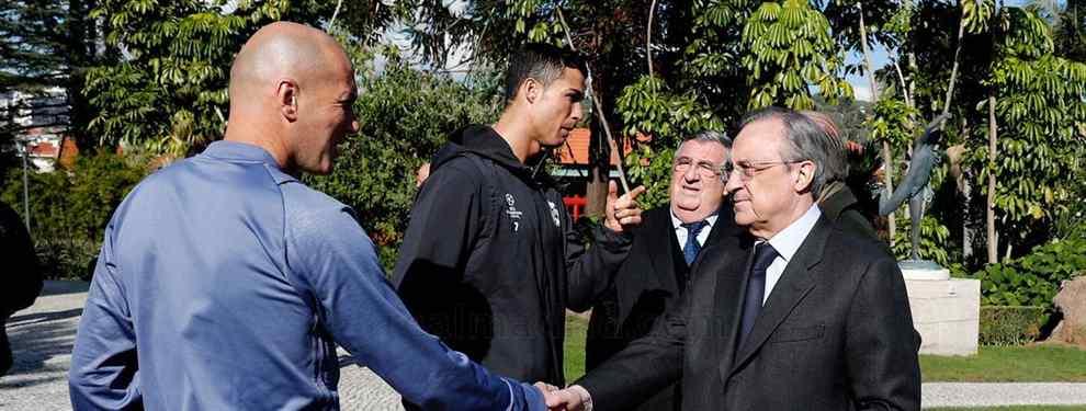 Zinedine Zidane le para los pies a Florentino Pérez: la operación vetada en el Real Madrid