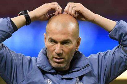 El lío bestial que Zinedine Zidane tiene que frenar en el vestuario del Real Madrid
