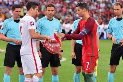 El nuevo pique brutal entre Cristiano Ronaldo y Lewandowski aleja al polaco del Real Madrid