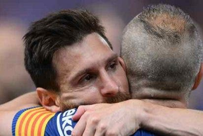 El papel (vital) que jugó Messi para la renovación de Iniesta con el Barça