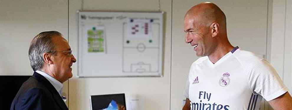 Zidane se reúne con Florentino Pérez para darle un tirón de orejas (con un fichaje de por medio)
