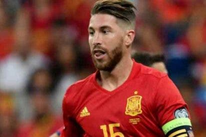 """Así de """"orgulloso"""" está Sergio Ramos, de la bandera de España"""