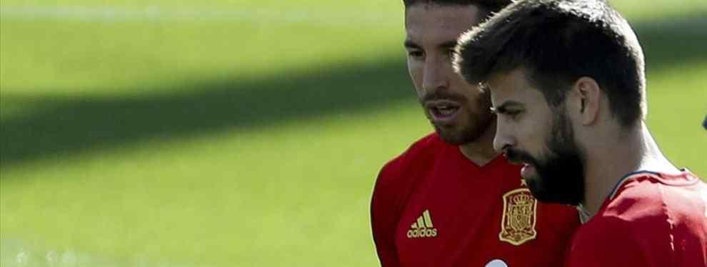 Sergio Ramos se lleva a Gerard Piqué de discoteca y se la lía la de Dios