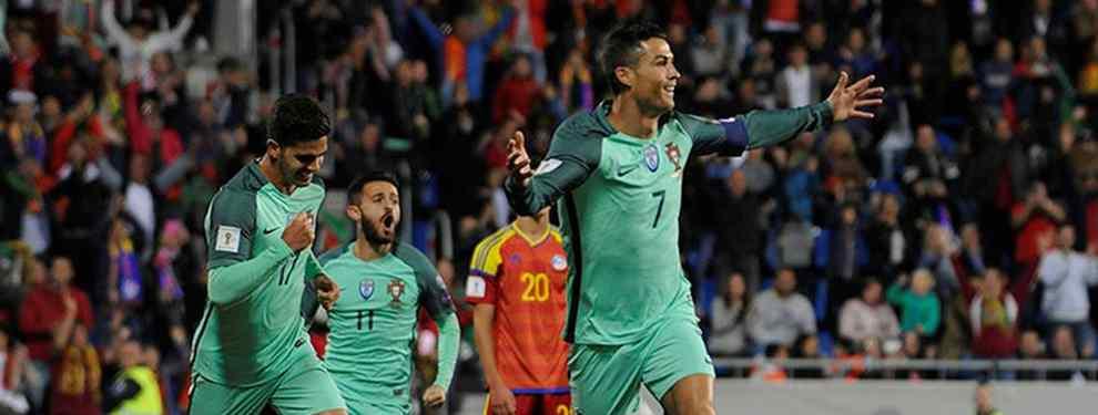 Cristiano Ronaldo lanza un 'top secret' sobre Messi después de ganar con Portugal