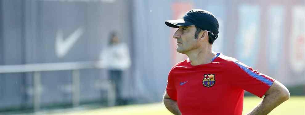 El jugador del Barça al que Valverde quiere cargarse (¡y es un escándalo bestial!)