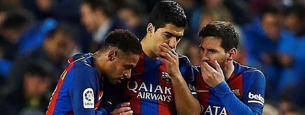 Luis Suárez mueve los hilos para desmontar la última puñalada de Neymar a Messi (y a al Barça)