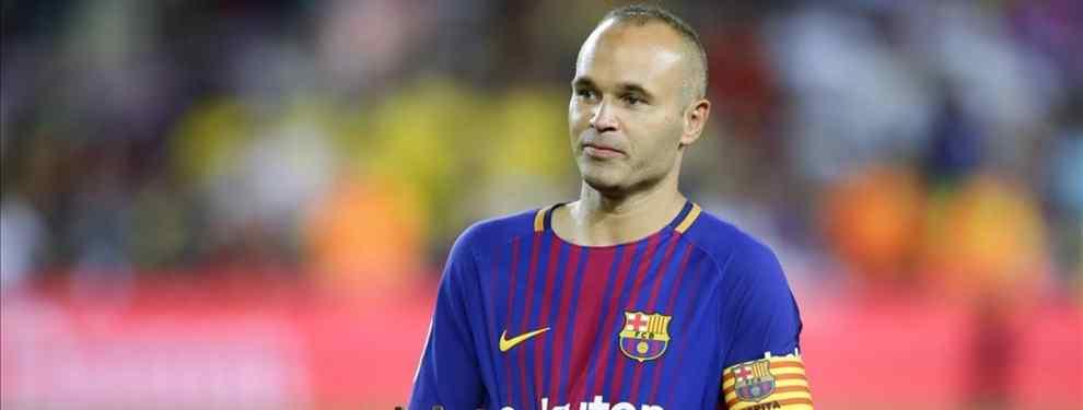 La cláusula secreta del nuevo contrato de Iniesta con el Barça que te dejará alucinado