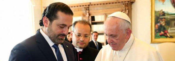"""El Papa alienta al presidente de Líbano a construir la paz desde """"las fes diversas"""""""